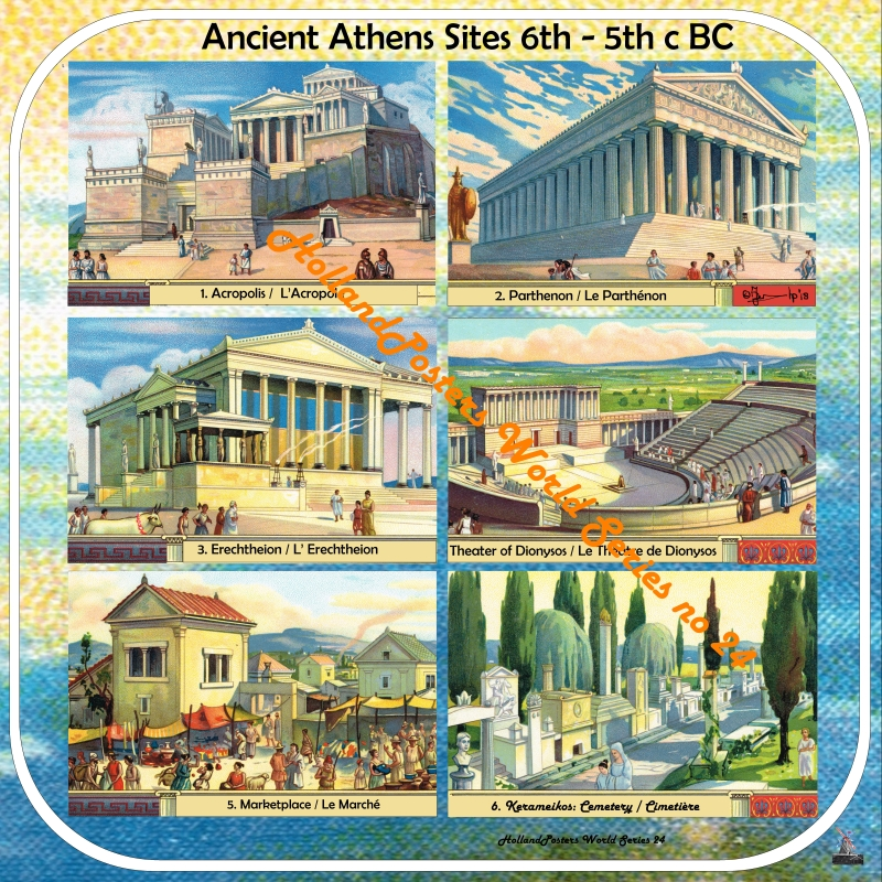Ancient Athens Sites and Buildings HP WS 24 D English and French