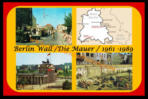 Berlin Die Mauer / The Wall poster (C 93)