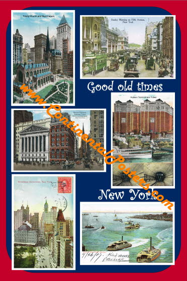 Good old times new York city 2 C 88