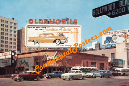 Hollywood old retro American Cars ca 67 cp