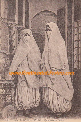 Old African muslim ladies