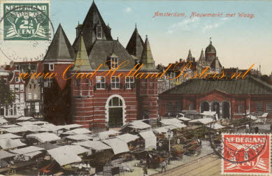 Amsterdam new market and scales building