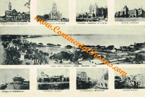 Old Bombay multi view 1912